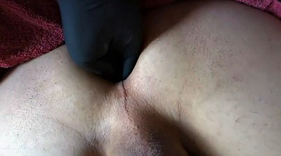Wife fist, Huge toy, Ruined, Huge anal toy