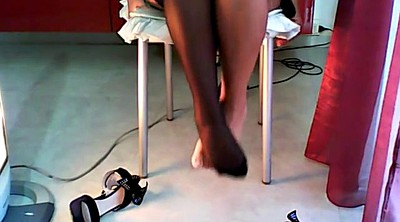 Nylon, Nylon foot, Nylon feet