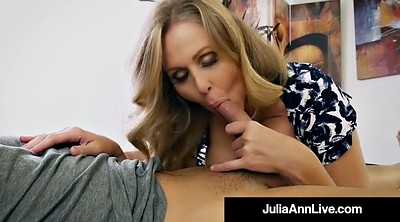 Julia ann, Naughty, Mother son, Hot mother