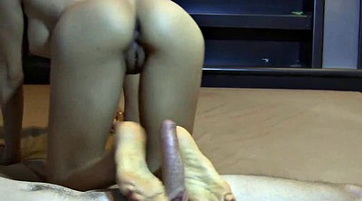 Footjob, Asian foot, Asian footjob, Asian foot fetish