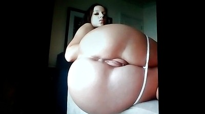 Spanking, Cream, Masturbating, Bbw ass