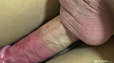 Finger, Big hairy pussy, Pussy closeup, Brush