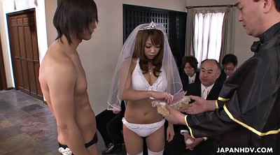 Bride, Wedding, Japanese cumshot, Asian white