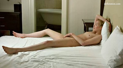 Interview, Virgin solo, Russian orgasm, First