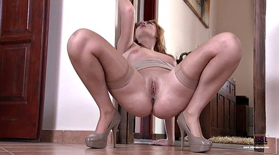 Stockings, Beauty, Stockings foot, Russian foot, Stocking foot