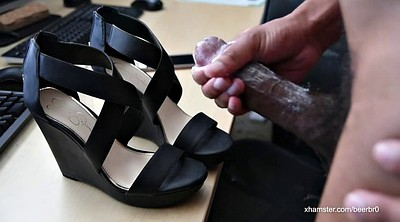 Wife, Cum on shoes