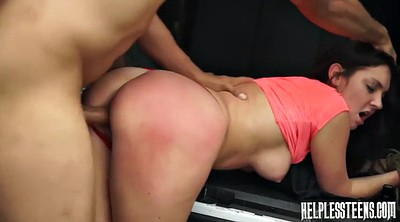 Gagging, Riding orgasm, In car, Lost, Brittany, Bdsm orgasm