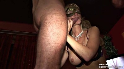 Cum in mouth, Group creampie