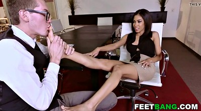 Footjob, Office foot, Teen feet, Teen footjob, Footjob office