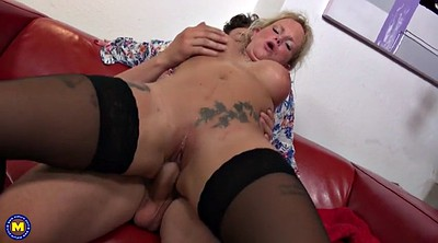 German granny, Sons, Young son, Mature son, Mature and son, Young fuck