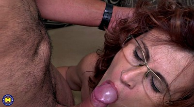 Milf, Hairy old, Passionate sex