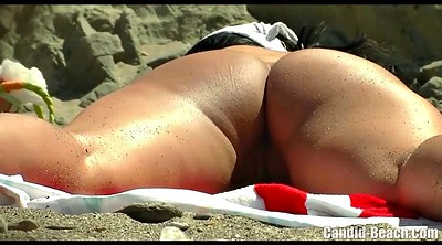 Beach, Nudist, Beach voyeur, Nudist beach, Milf hairy