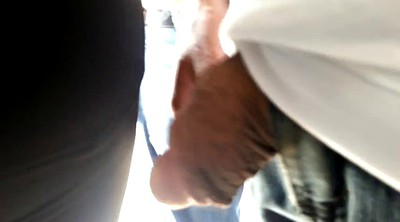 Bus, In bus, Outdoor masturbation, Pull out