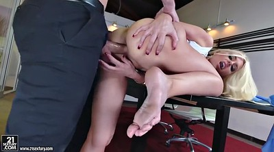 Secretary, Alena croft, Office foot, Big feet