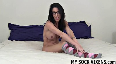 Socks, Knee socks, Socking