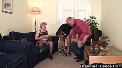 Wife threesome, Old teacher, Wife gangbang, Old couple