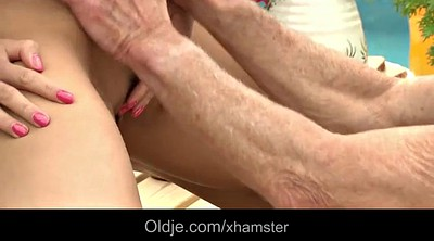 Huge cock, Huge ass, Morning, Anal granny