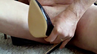 Shoe, Pump, Wife and black, Fuck my wife