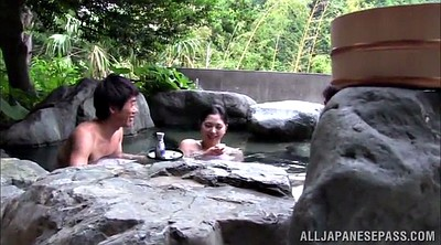 Japanese threesome, Japanese spring, Asian big tits, Double asian