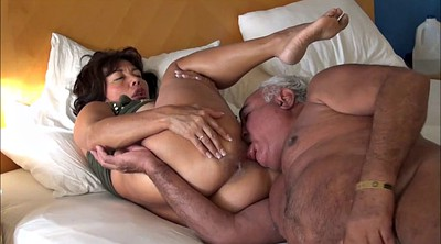 Pussy lick, Asian wife