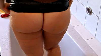 Bbw solo, German bbw, German solo, Fat ass