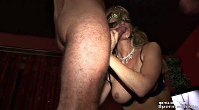 German milf, Cum in mouth