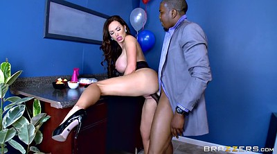 Black, Nikki benz, Ebony milf, Big tits office