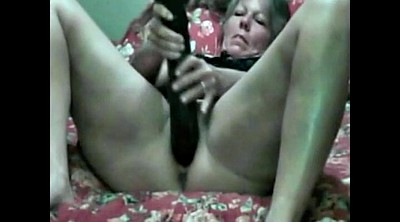Old granny, Mature dildo