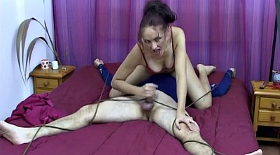Mistress handjob, Abuse