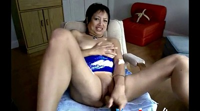 Webcam mature, Asian granny