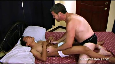 Old daddy, Asian gay, Old dad, Asian old, Asian big cock, Asian dad