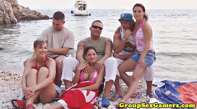Game, Beach sex, Sex game, Grouping, Grouped, Group game