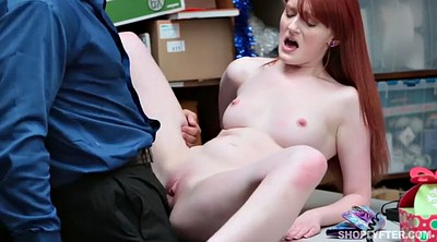 Spanked, Try, Steal, Redhead facial, Spank fuck, Krystal steal