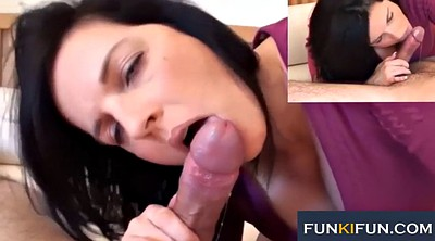 Facial compilations, Blowjob compilation