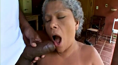 Mature big ass, Granny interracial, Granny ass