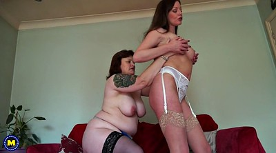 Mother, Bbw lesbian, British mature