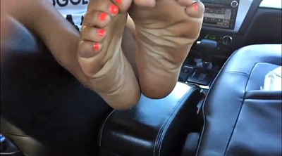 Red, Ebony foot, Black foot