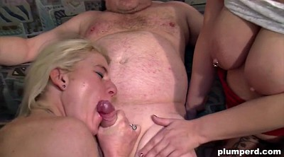 German mature, Blowjobs, Two