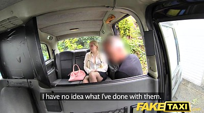 Fake taxi, Mature man, Backseat