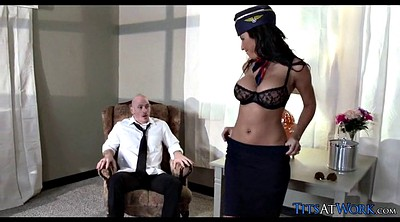 Cheating, Flight, Pilot, Milf fuck, Flight attendant