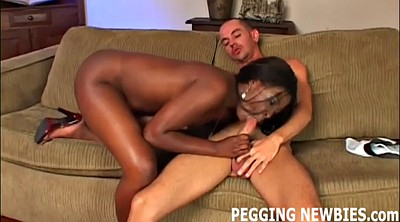 Pegging, Peg, Pegged, Ebony asshole