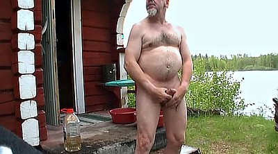 Sauna, Old granny, Daddies
