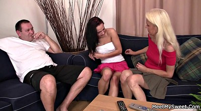 Mature young, Young and mature, Teen cute, Couple threesome, Old couples, Mature threesome