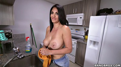 Maid, House maid, House, Buck, Topless, Maid clean