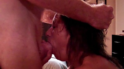 Fat mature, Mature cum in mouth, In mouth
