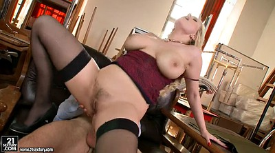 Black stockings, Stockings anal