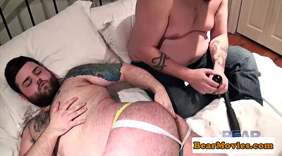 Gay, Bear, Hairy masturbation