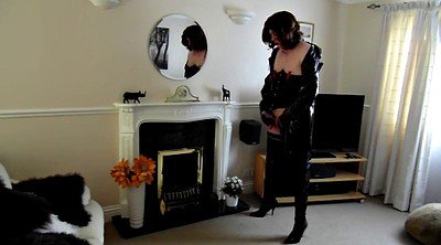 Pegging, Thigh boots, Thigh, Shemale boots, Pegged