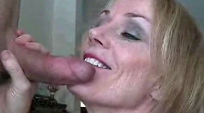 Sucking granny, Mom blowjob