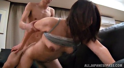 Milfs, Pussy lick, Doggy style, Asian pussy